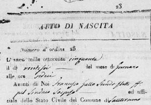 Francesco Demarco - Sindaco sospeso nel 1850 sostituito da Francesco Gallo, secondo eletto