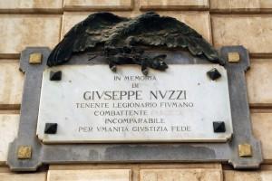 Giuseppe Nuzzi (1898-1933), Legionario di Fiume
