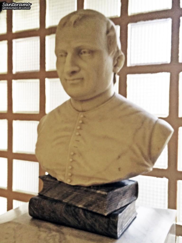 Busto marmoreo di Francesco Paolo Jacoviello, Ospedale Monte Jacoviello