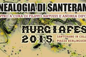 La Genealogia di Santeramo al Murgiafest 2015
