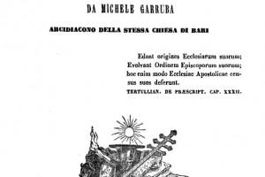 Michele Garruba racconta Santeramo