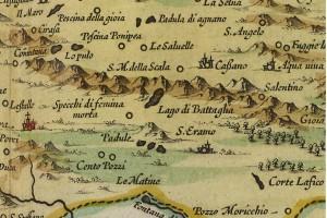 La mappa di Santeramo nel 1665