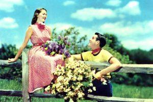 La cartolina romantica del 1962