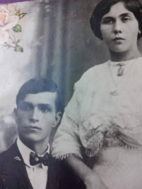Fidanzamento tra Nicola Ferorelli e Rosa Longobardi, 1913