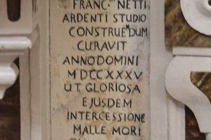Francesco Netti e l'altare di Sant'Anna