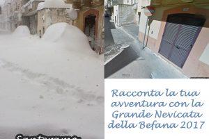 La grande nevicata della Befana 2017