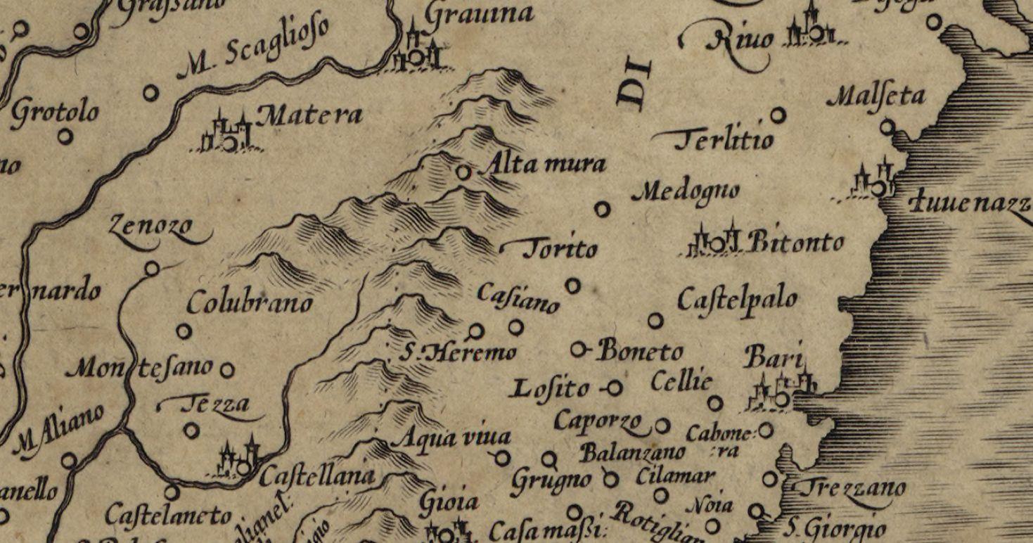 Mappa Puglia E Basilicata.Category Mappe Santeramo Genealogia In Colle